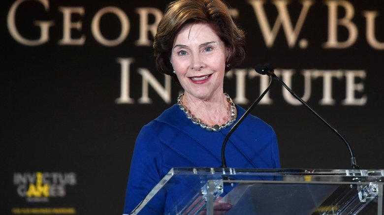 Laura Bush Car Accident  Years Old