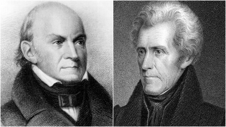 andrew jackson and john quincy adams Find out information about john quincy adams  some appear in the selected writings of john and john quincy adams  andrew jackson john quincy adams.