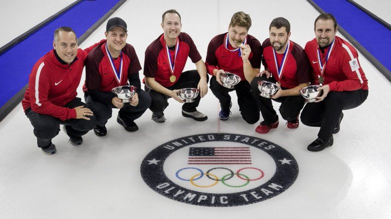Team USA curlers