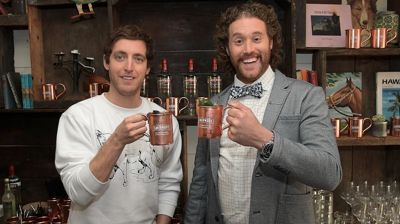 T.J. Miller and Thomas Middleditch