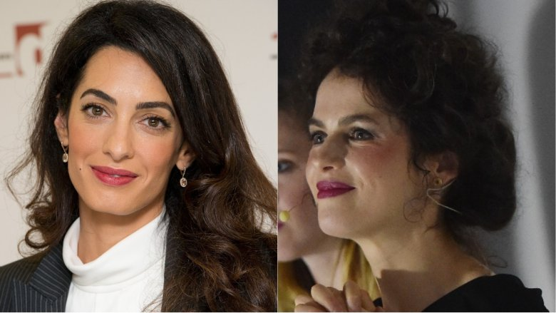 Amal Clooney and Neri Oxman