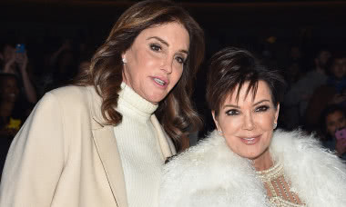 NEW YORK, NY - FEBRUARY 11: Caitlyn Jenner (L) and Kris Jenner attend Kanye West Yeezy Season 3 on February 11, 2016 in New York City. (Photo by Dimitrios Kambouris/Getty Images for Yeezy Season 3)