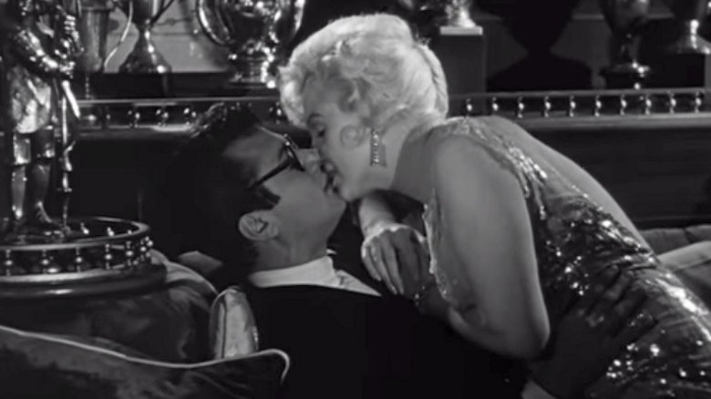 Tony Curtis, Marilyn Monroe in Some Like It Hot