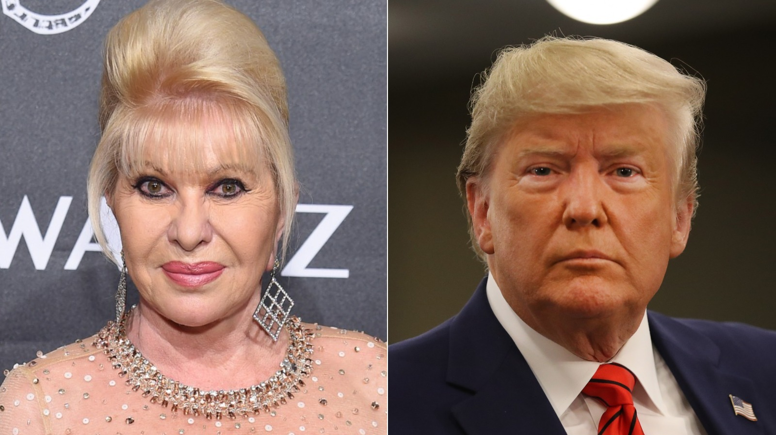 Body Language Expert Reveals The Truth About Ivana Trump And Donald Trump's Relationship