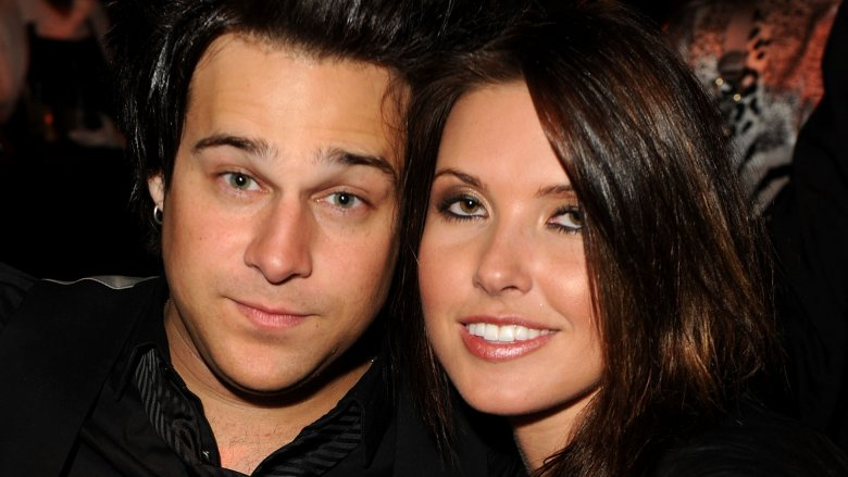 Audrina Patridge and Ryan Cabrera