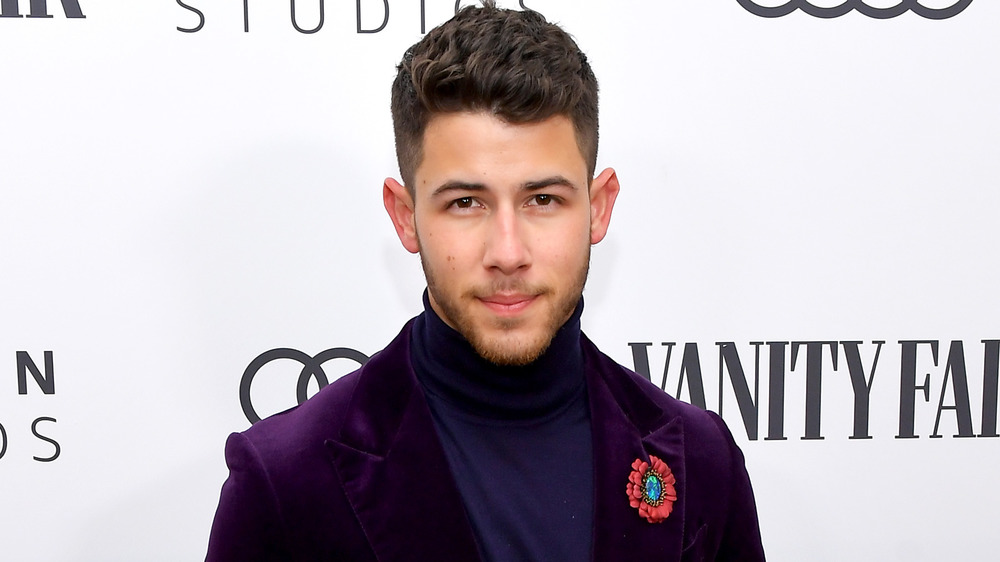 Nick Jonas at an event in 2020