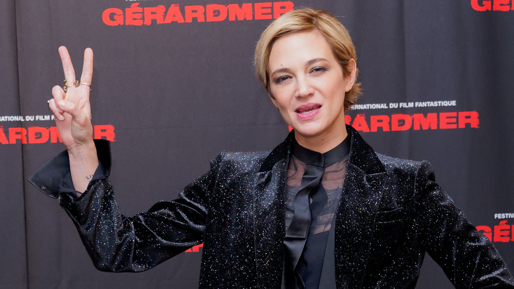 Asia Argento in France in 2020
