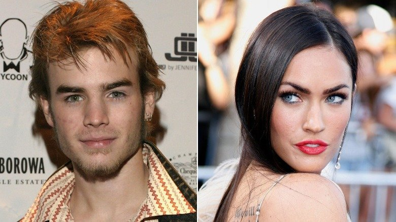 """7th Heaven"" actor David Gallagher and Megan Fox at the ""Transformers"" premiere"