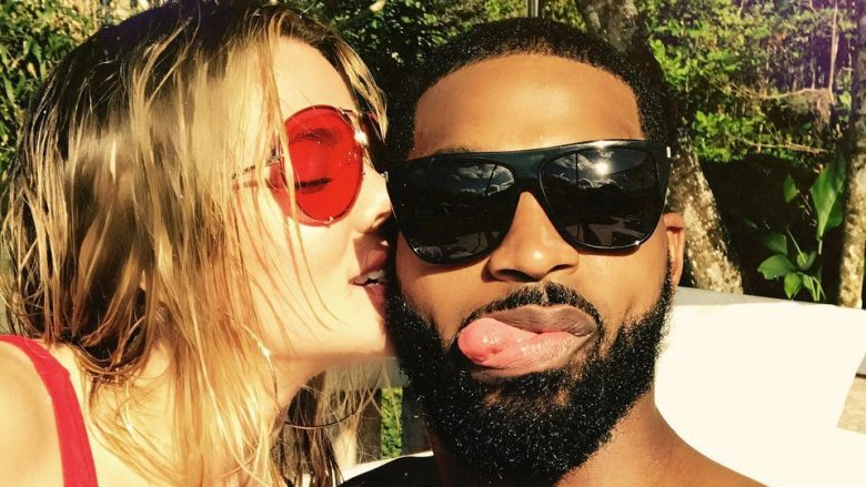 ​Khloé Kardashian and Tristan Thompson