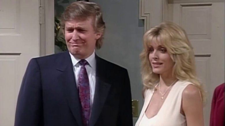 Donald Trump, Marla Maples in The Fresh Prince of Bel-Air