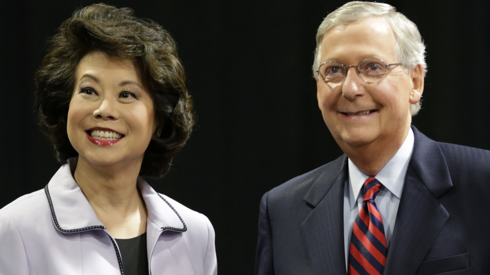Details about Mitch McConnell and Elaine Chao