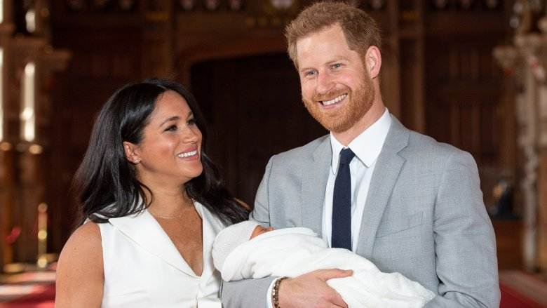 Meghan Markle, Prince Harry and son Archie Mountbatten-Windsor