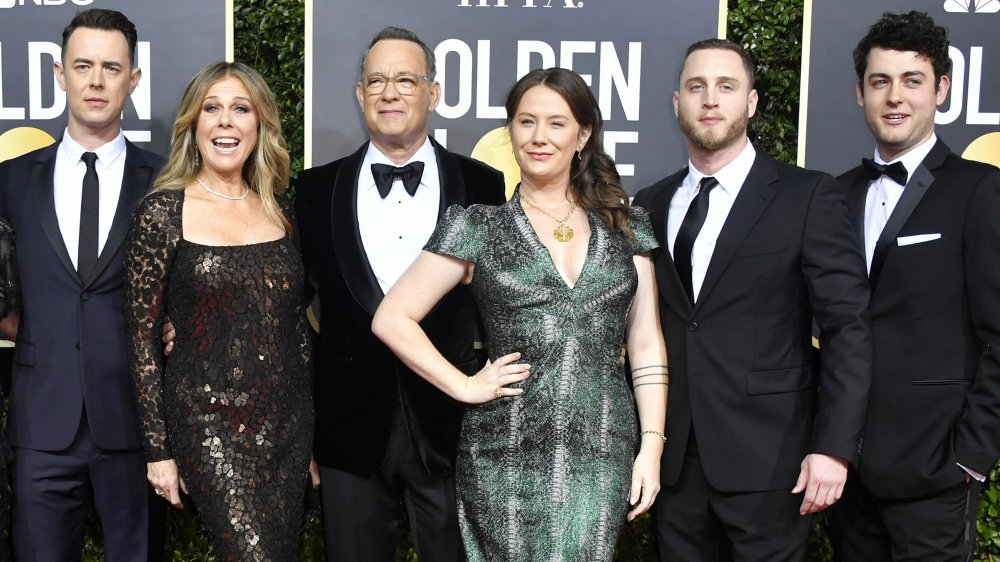 Colin Hanks, Rita Wilson, Tom Hanks, Elizabeth Ann Hanks, Chet Hanks, Truman Hanks