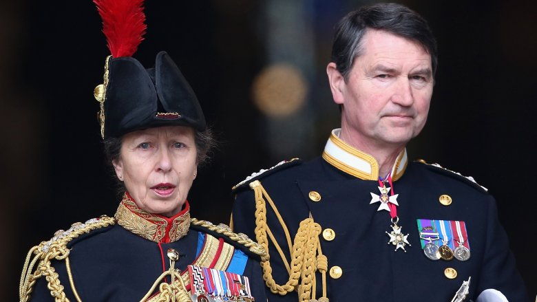 Princess Anne and Sir Timothy Laurence