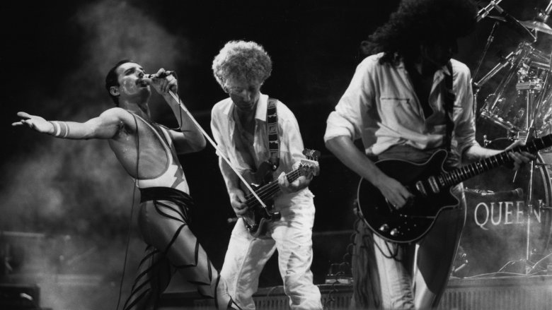 Freddie Mercury, John Deacon, Brian May