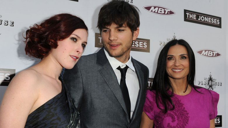 Rumer Wilson, Ashton Kutcher, Demi More