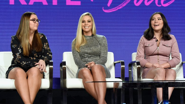 Cara, Mady, and Kate Gosselin