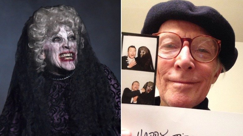 Tom Fitzpatrick as the Bride in Black in Insidious