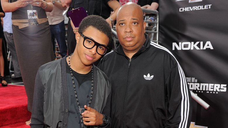 Diggy Simmons Rev Run Simmons