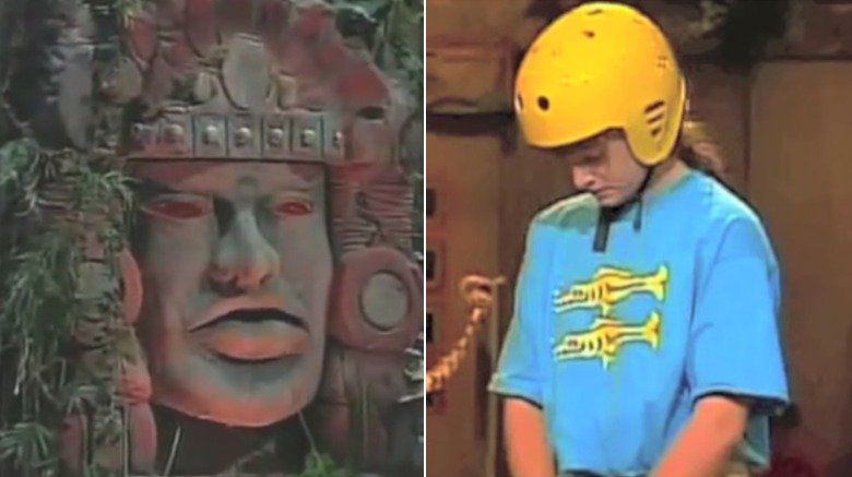 Olmec and contestant on Nickelodeon's hit '90s game show 'Legends of the Hidden Temple'