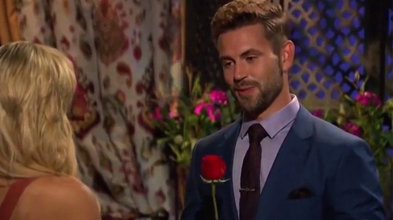 Nick Viall's rose ceremony on ABC's The Bachelor