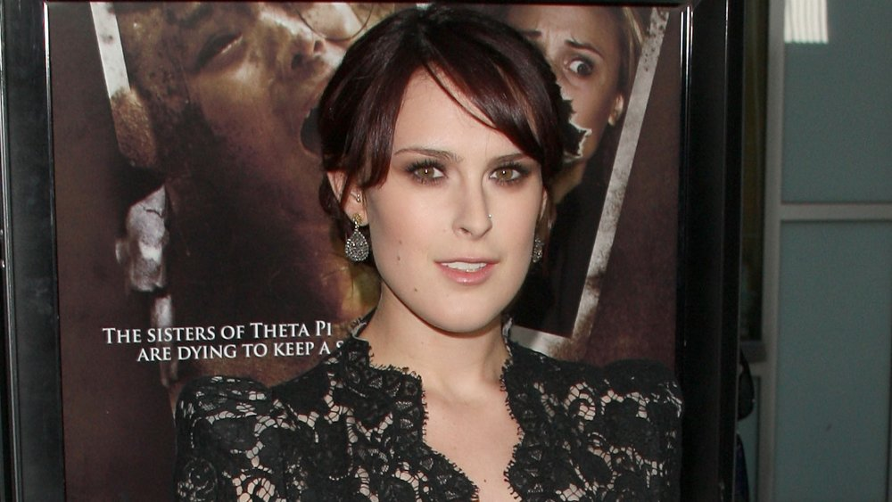 Rumer Willis at the premier for 'Sorority Row'