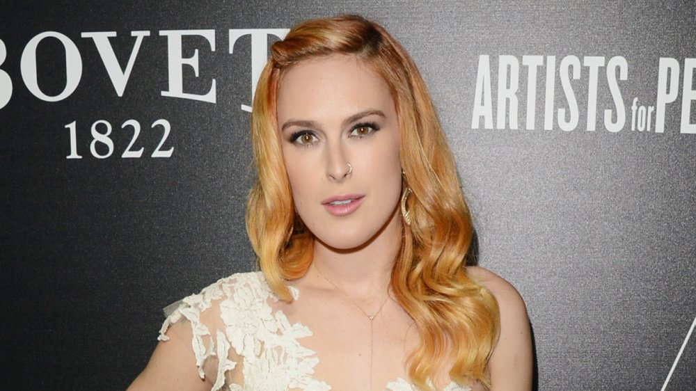 Rumer Willis at the Hollywood Domino & Bovet 1822 Gala