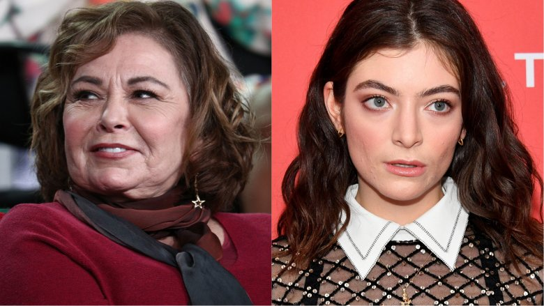 Roseanne Barr and Lorde