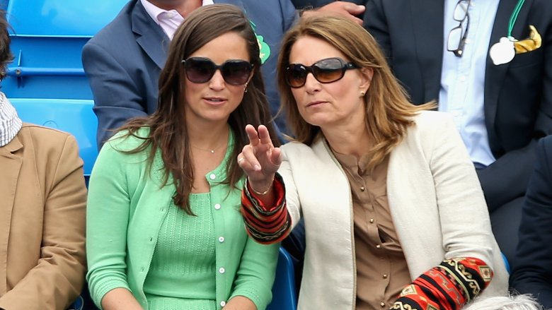 Pippa Middleton and Carole Middleton