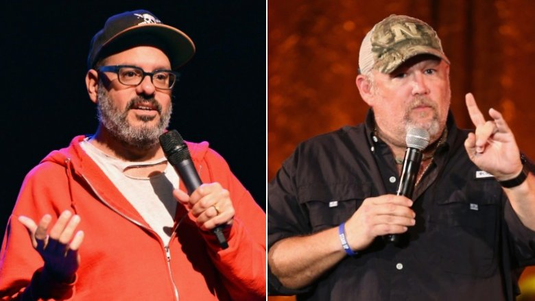 David Cross, Larry the Cable Guy