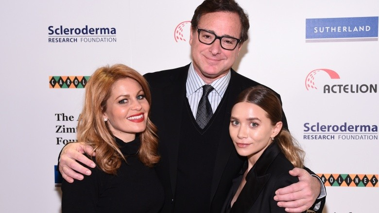 Candace Cameron Bure Bob Saget Ashley Olsen