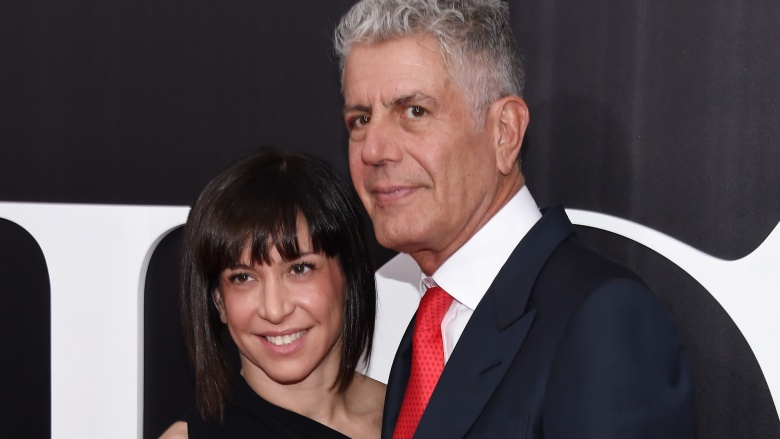 Ottavia Busia Anthony Bourdain