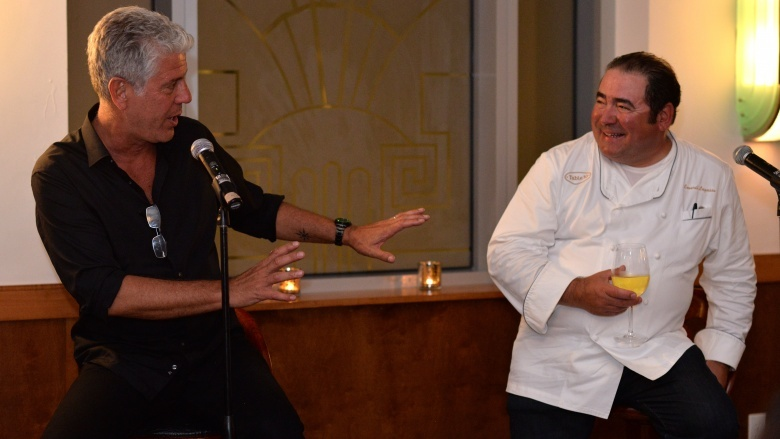 Anthony Bourdain Emeril Lagasse