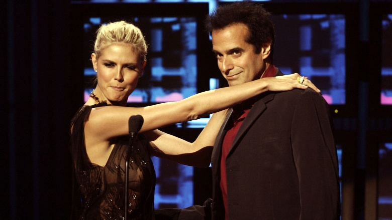 The double life of david copperfield getty images m4hsunfo