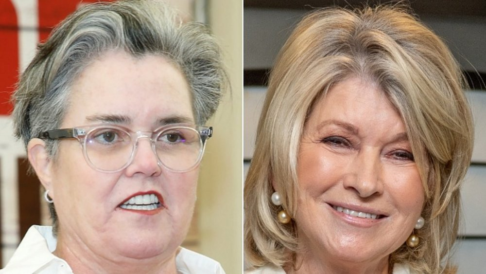The gift Rosie O'Donnell gave Martha Stewart when she got out of prison