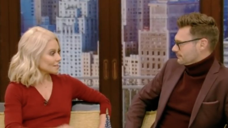 Kelly Ripa and Ryan Seacrest