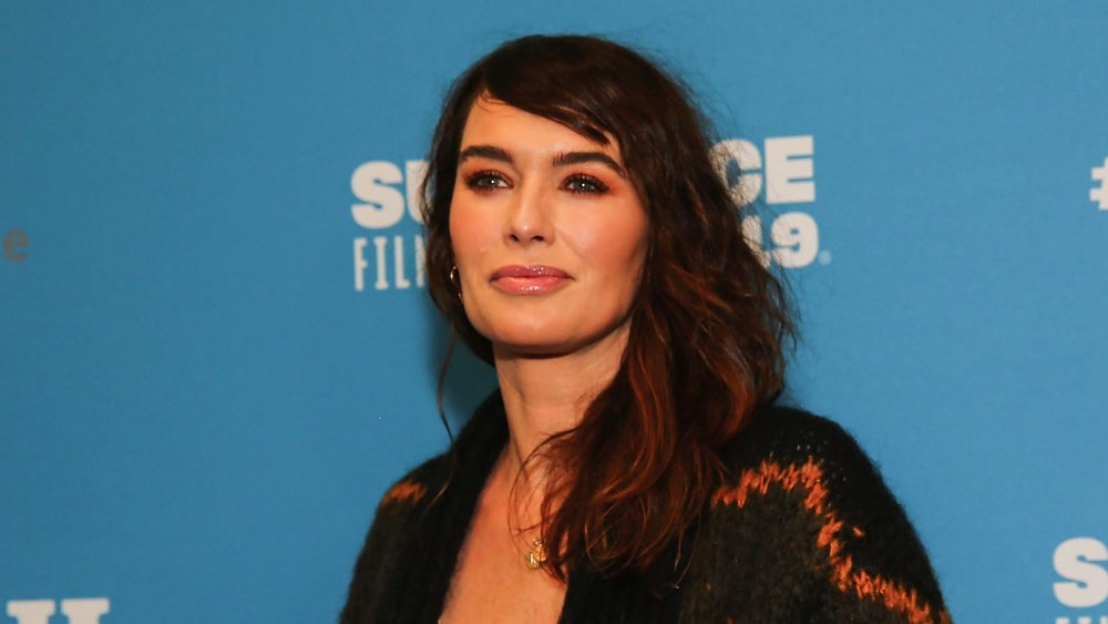 Lena Headey at a Fighting with My Family screening in 2019