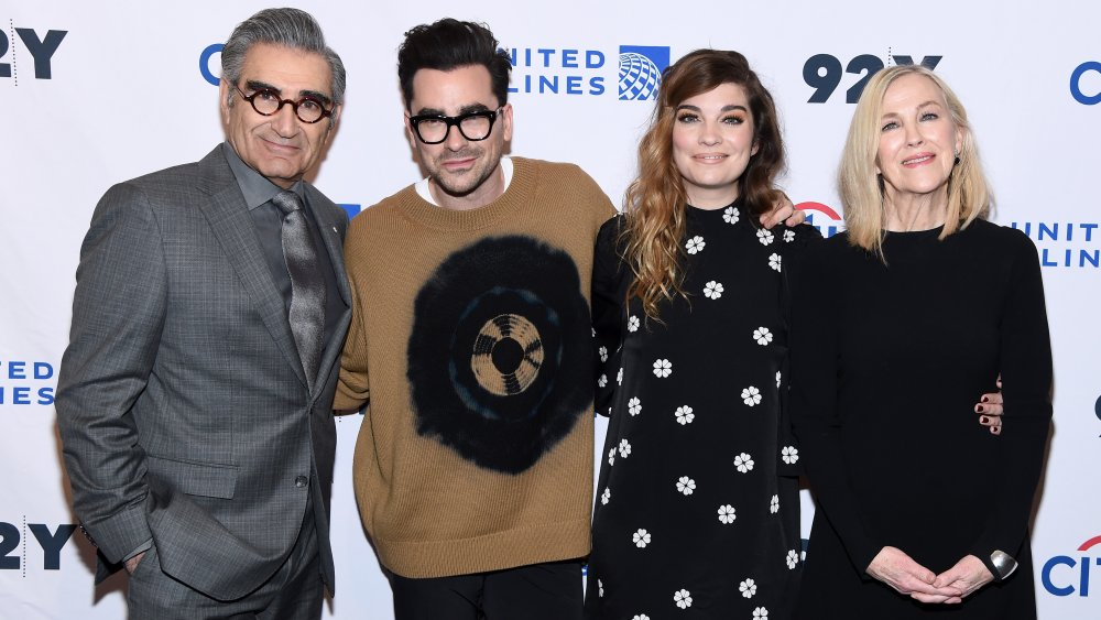 The real life partners of the Schitt's Creek cast