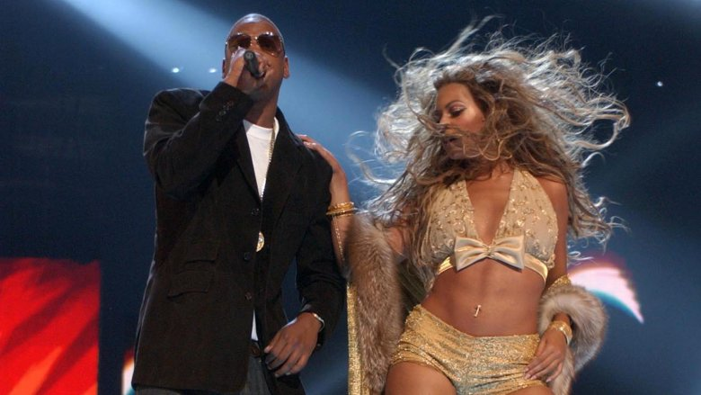 Beyoncé and Jay Z on Stage