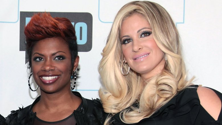 Kim Zolciak-Biermann and kandi burrus