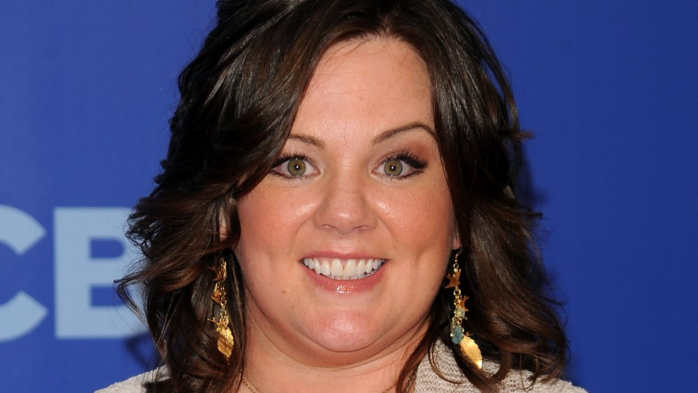 Melissa McCarthy smiling at a CBS event