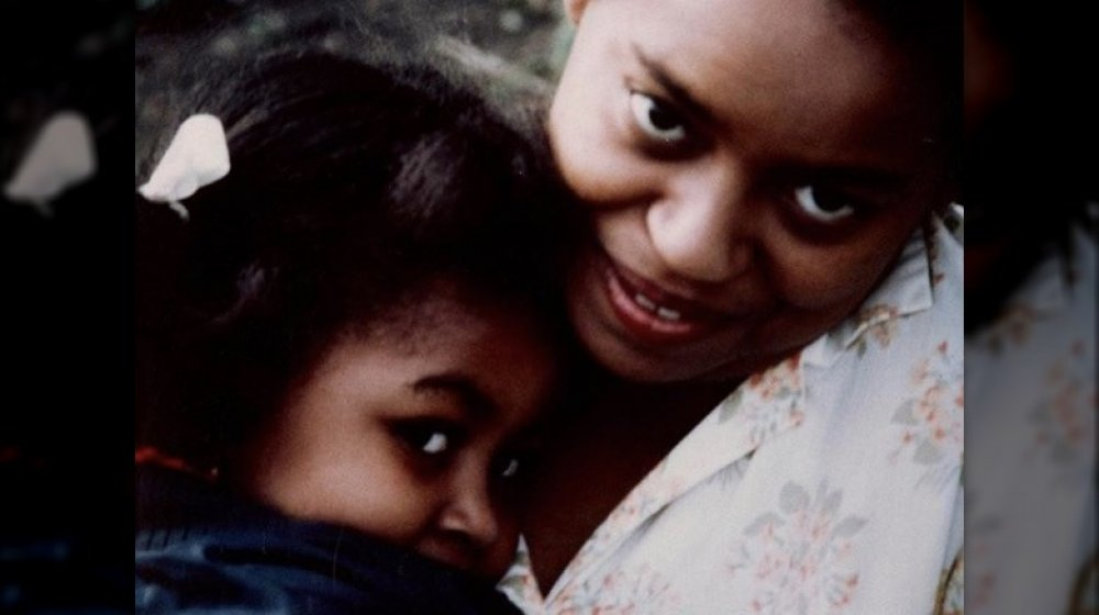 Michelle Obama and her mother Marian Robinson in a throwback photo on Instagram