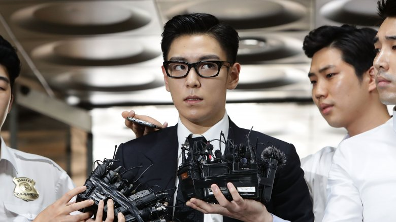 T.O.P facing press after marijuana charges