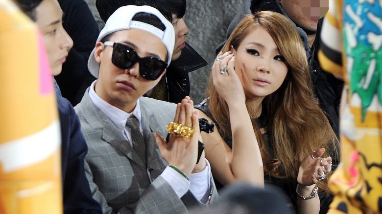 G-Dragon wearing bling