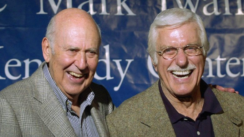 Carl Reiner and Dick Van Dyke