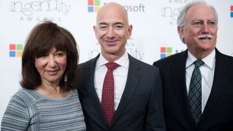 Jackie, Jeff, and Mike Bezos