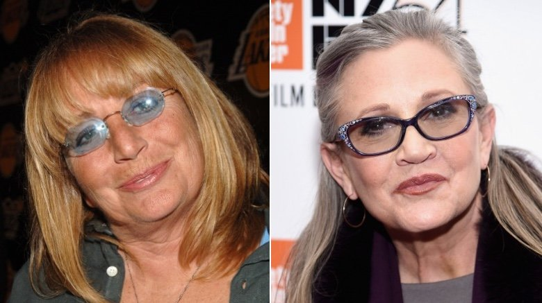 Penny Marshall, Carrie Fisher