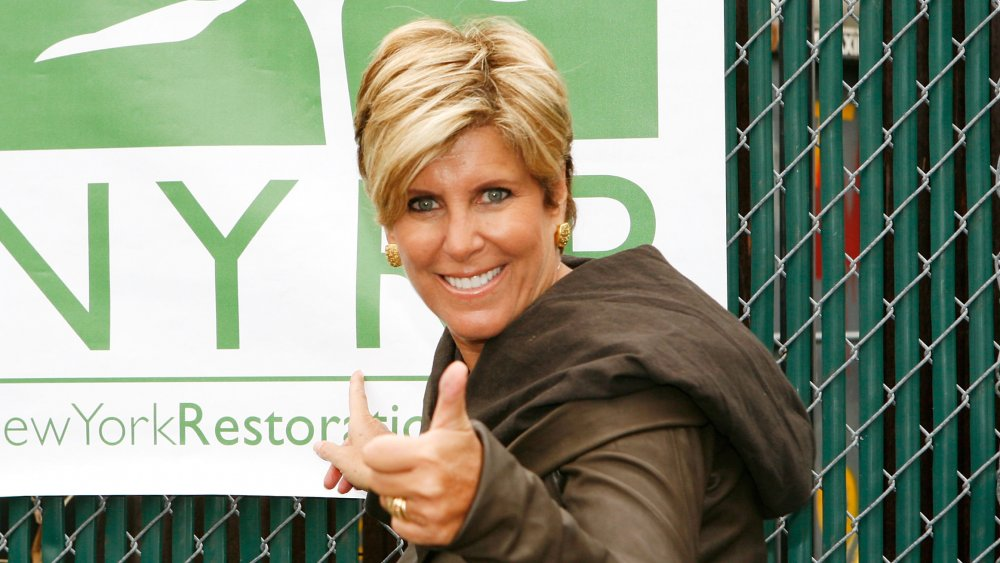 Suze Orman at Earth Day event in 2009