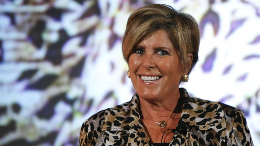 Suze Orman at a conference in 2010