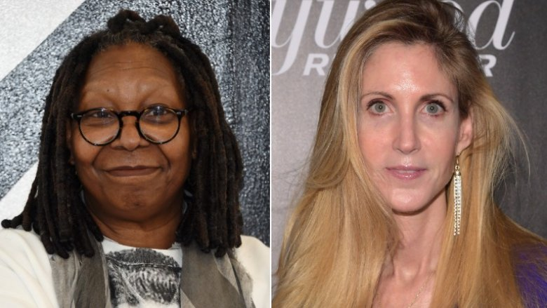 Whoopi Goldberg and Ann Coulter